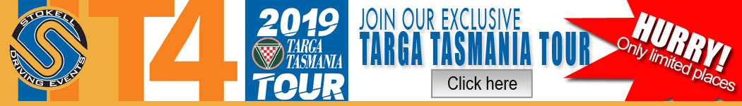 Join our T4 - Targa Tasmania Tour 2019