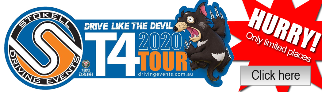 Join our T4 - Targa Tasmania Tour 2020